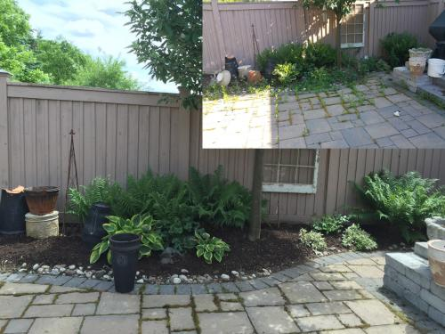 Backyard Ideas Patio Spring Clean-Up After 2