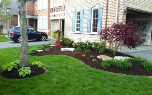 Front Garden Bed Planting  Flowers