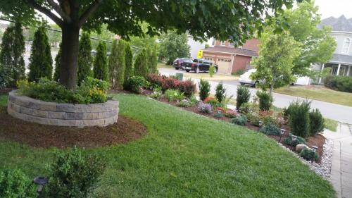 Front Yard Flower Planting Design 2