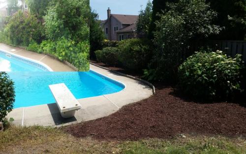 Garden Bed Clean-Up Mulch Gardener 3