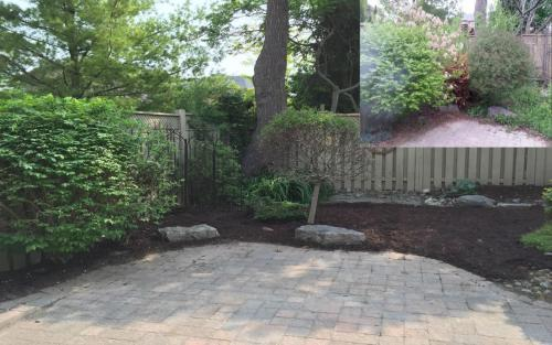 Garden Clean-Up Pruning and Mulch