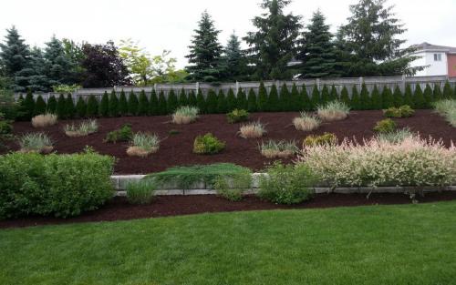 Large Garden Bed Mulch