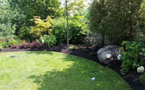 Pool Landscaping and Flower Beds 2