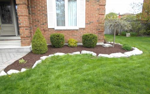 Small Garden Bed Design  Install