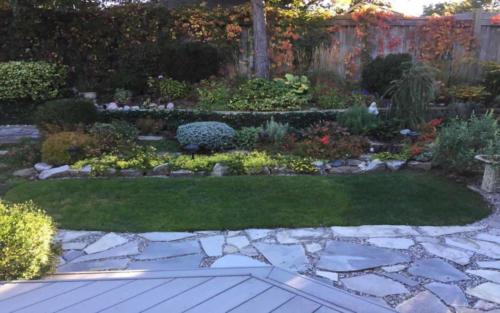 backyard english garden