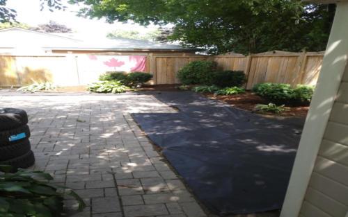 garden bed path