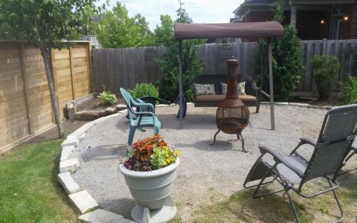Back Yard Patio Garden