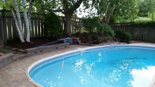Backyard Pool Landscaping After 2