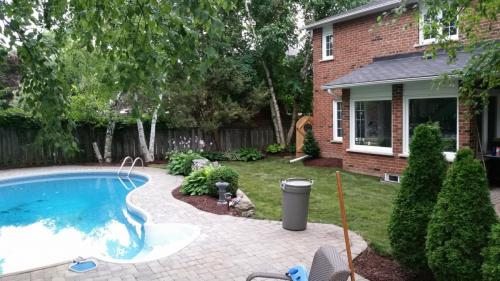 Backyard Pool Landscaping After 3