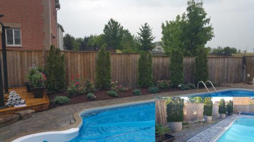 Backyard Pool Landscaping Garden Design After 1
