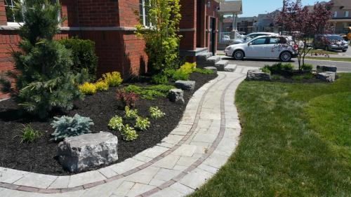 Front Patio Landscaping Landscape Garden After 2