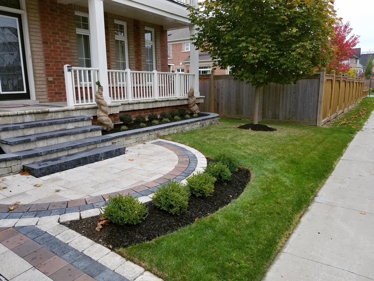 Front Yard Landscaping Stone Steps