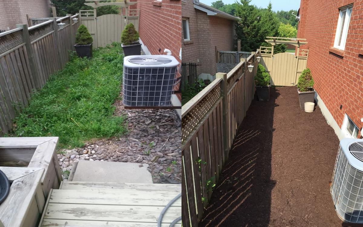 Garden Path Mulch