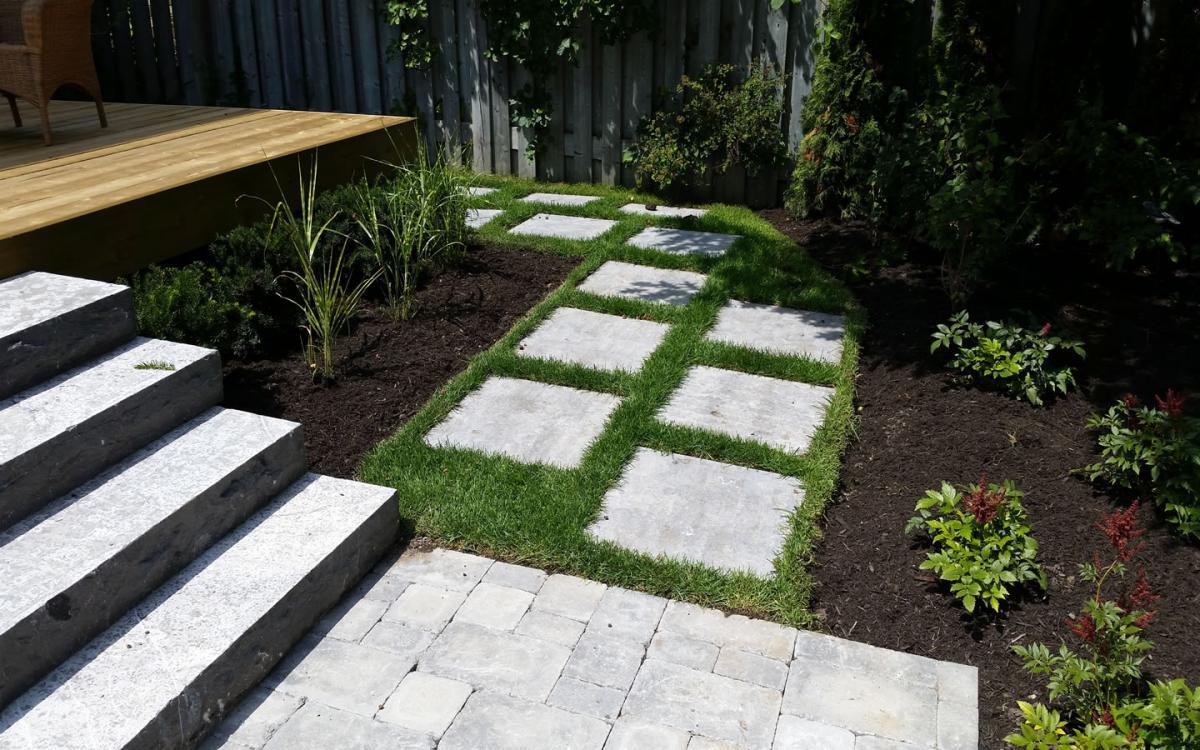 Garden Path Patio Stones