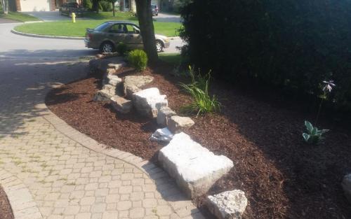 Gardening Gardener Flower Beds Rock Stone 2