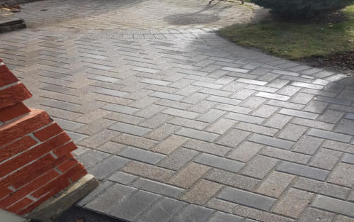 backyard paver addition