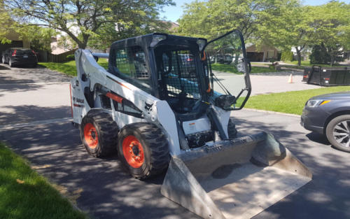 equipment full size bobcat