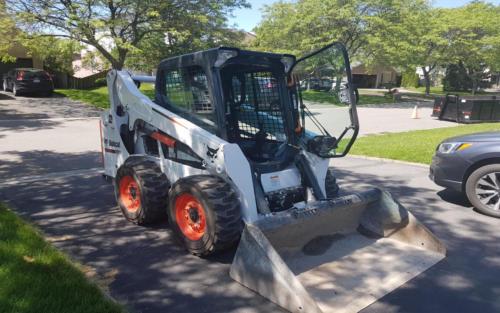 equipment full size bobcat