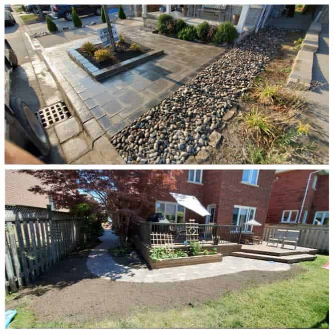 hardscaping project examples